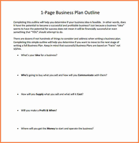 One Page Proposal Template Inspirational 6 One Page Business Proposal Example
