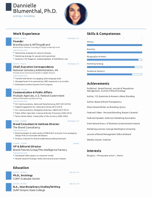 One Page Resume Examples Fresh E Page Resume Created with Free Novoresume Template