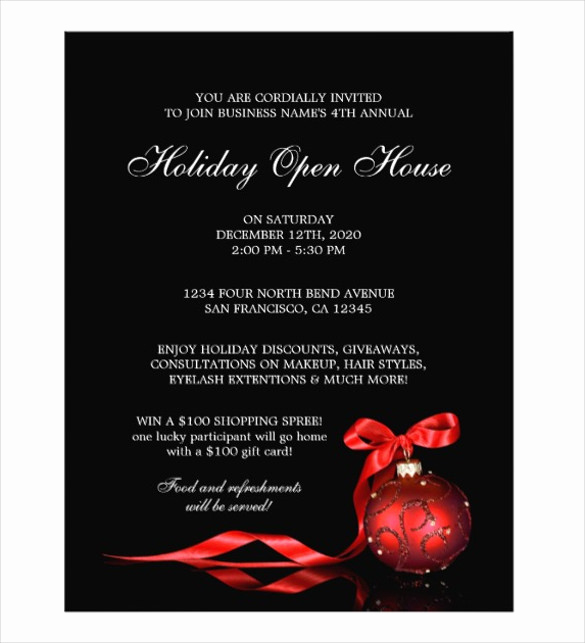 Open House Flyer Templates Fresh Open House Flyer Templates – 39 Free Psd format Download