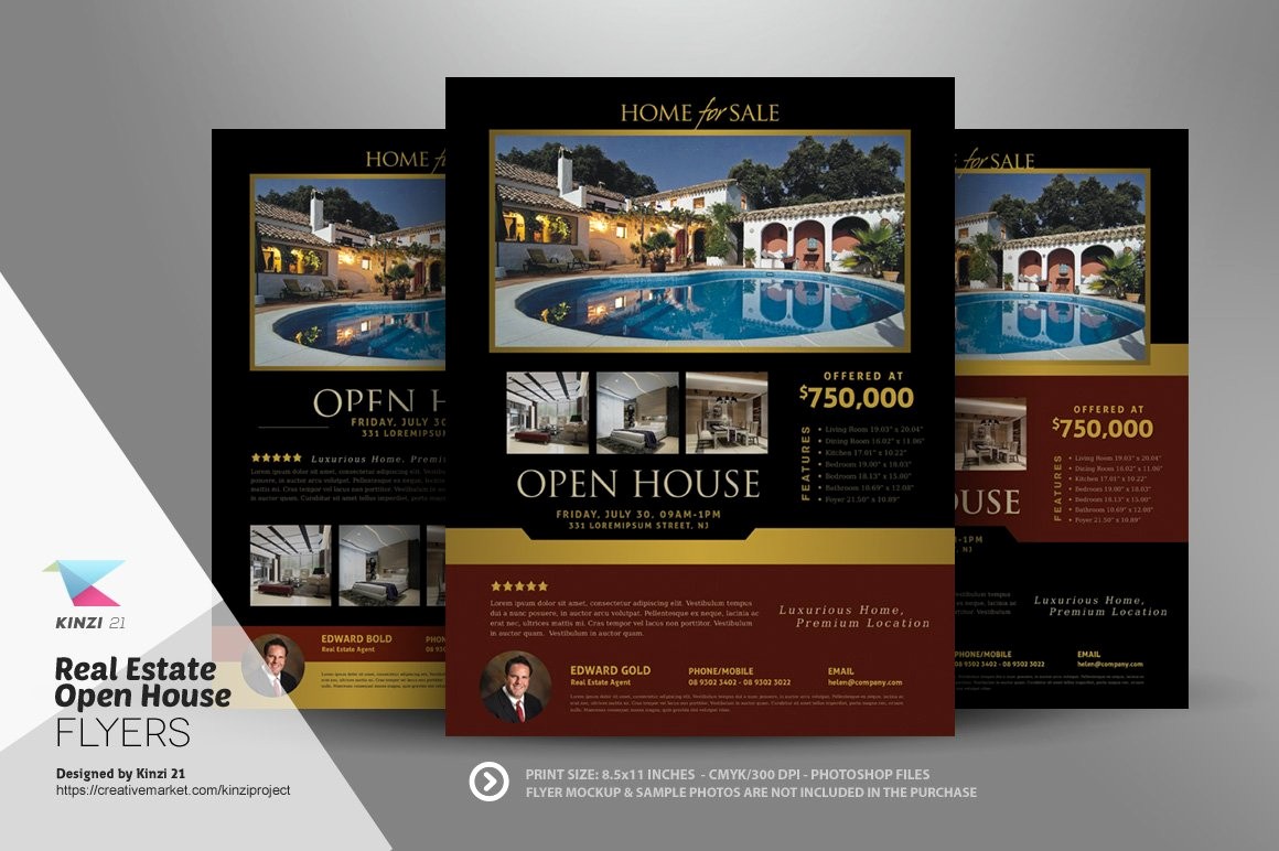 Open House Flyers Template Awesome Real Estate Open House Flyers Flyer Templates Creative