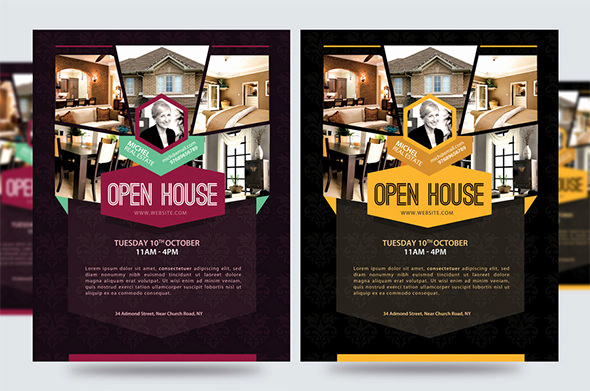 Open House Flyers Template Elegant Open House Flyer Templates – 39 Free Psd format Download