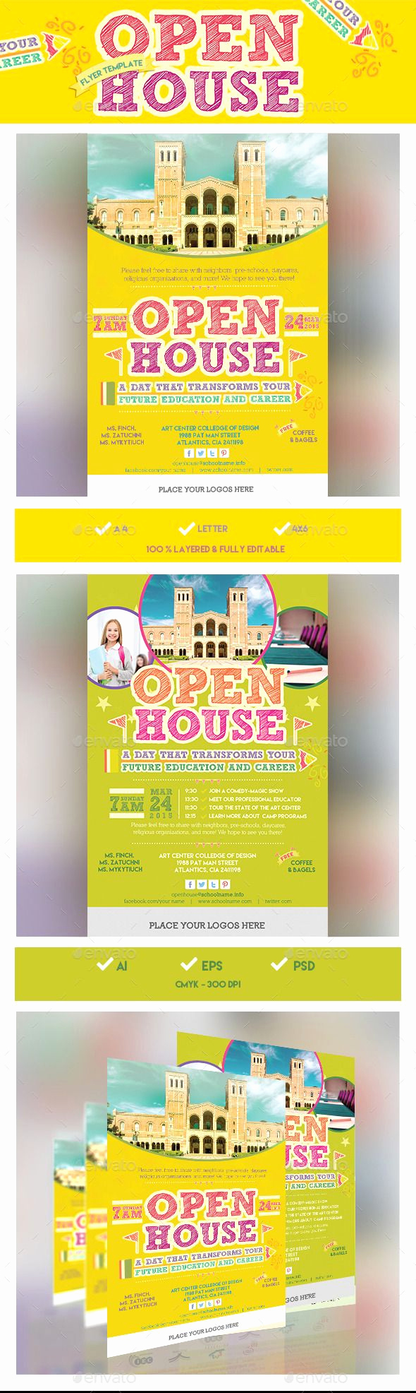Open House Flyers Template New 1000 Ideas About Open House Invitation On Pinterest