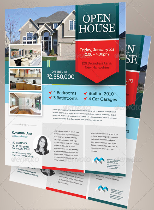 Open House Flyers Template New 42 Open House Flyer Templates Word Psd Ai Eps Vector