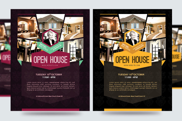 Open House Flyers Template Unique Open House Flyer Templates – 39 Free Psd format Download