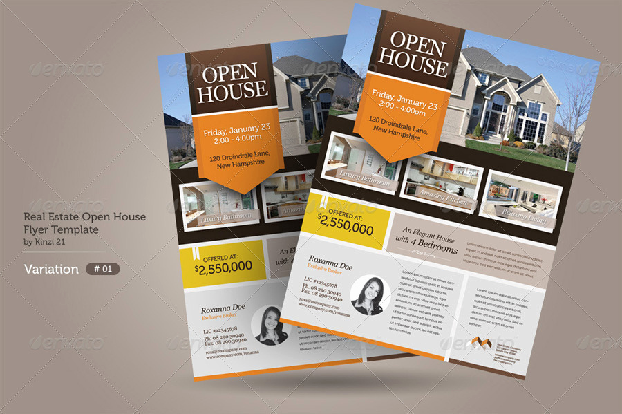 Open House Flyers Templates Elegant 15 for Sale Flyer Designs Psd Word Ai Eps formats