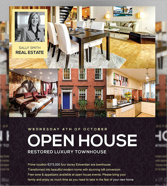 Open House Flyers Templates Luxury 19 Open House Flyers