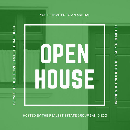 Open House Invitation Template Awesome Customize 498 Open House Invitation Templates Online Canva