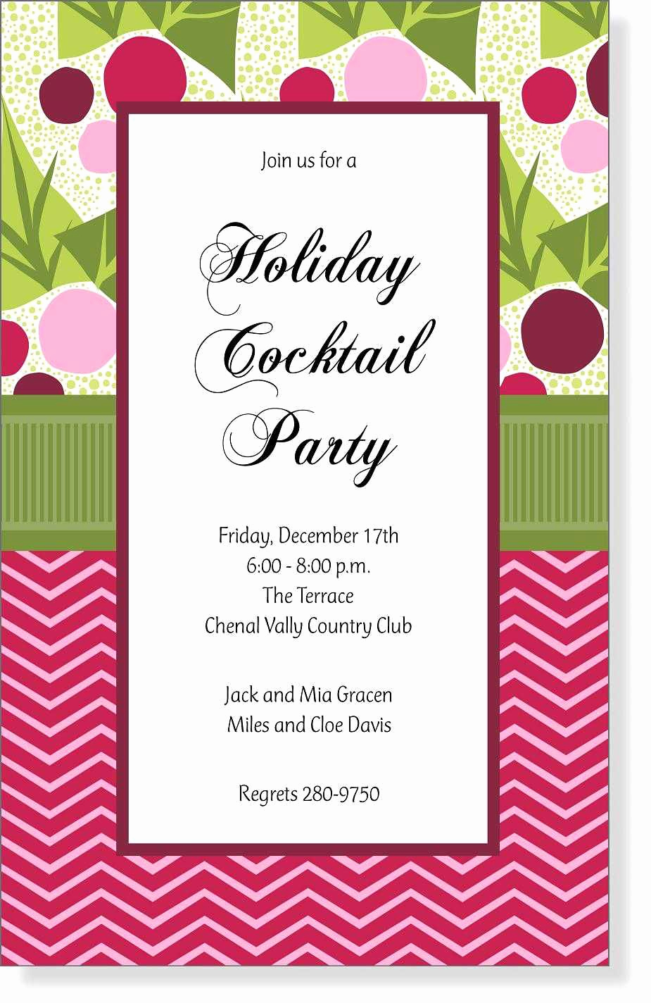 Open House Invitation Template Beautiful Christmas Open House Invitation Wording