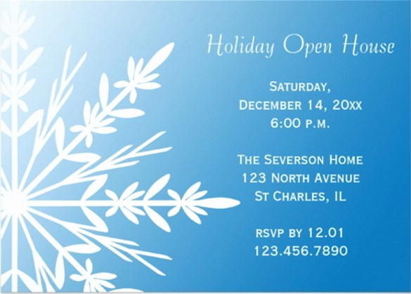 Open House Invitation Template Luxury Open House Invitations Templates Free Download Aashe
