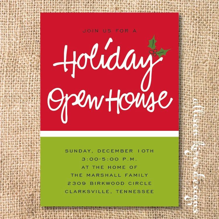 Open House Invitation Template New Open House Invitation