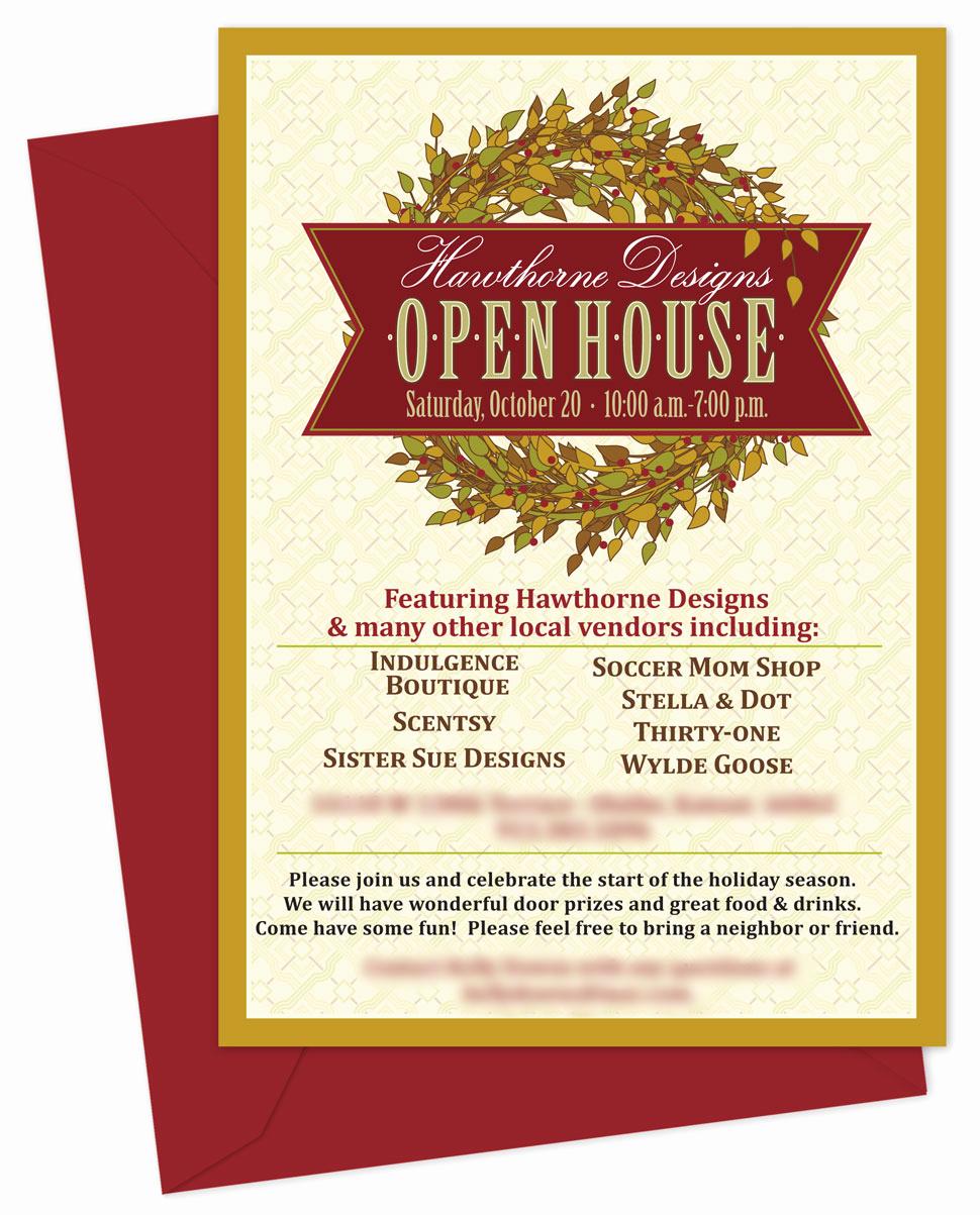Open House Invitation Template Unique Business Open House Invitation Templates