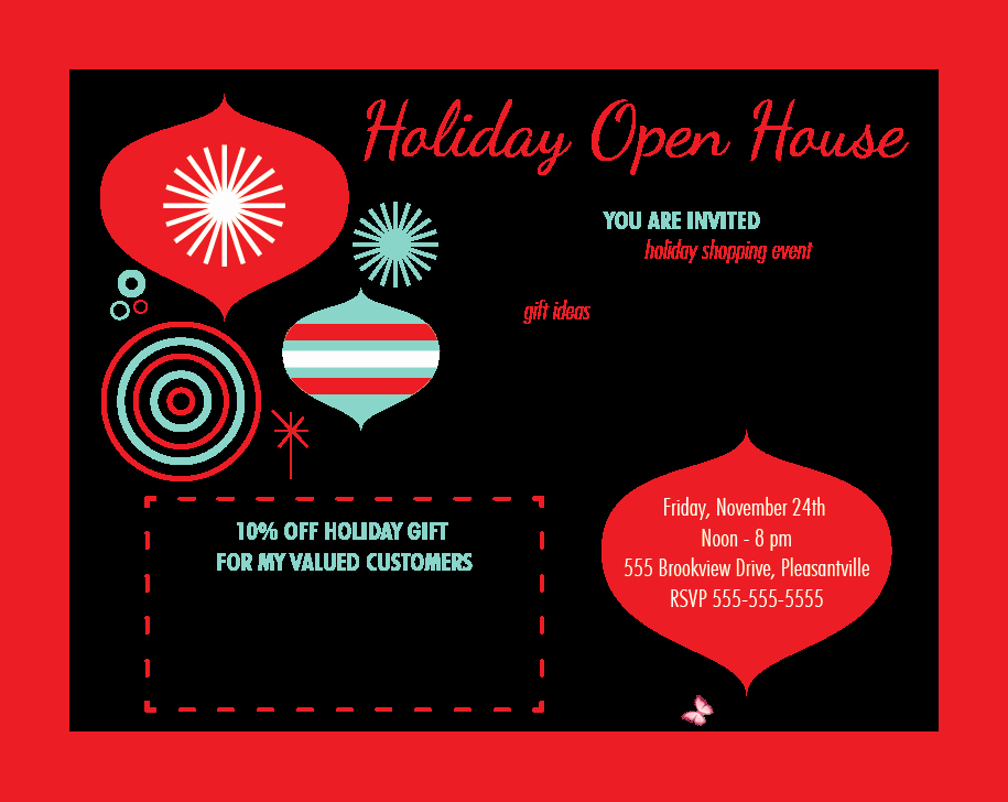 Open House Invitation Template Unique House Party Invitation Template