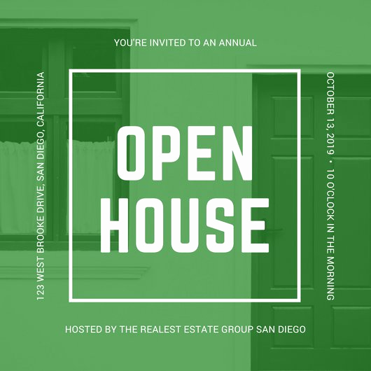 Open House Invitation Templates Elegant Customize 498 Open House Invitation Templates Online Canva