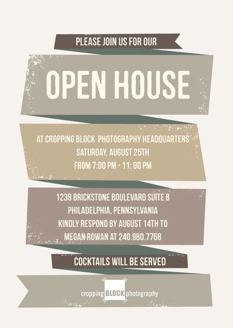 Open House Invite Templates Inspirational Business Open House Invitation Template
