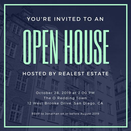 Open House Invite Templates Luxury Invitation Templates Canva