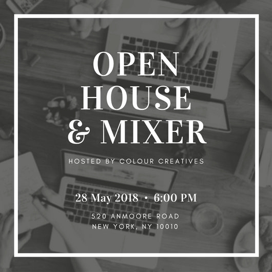 Open House Invites Wording Beautiful Open House Invitation Templates Canva