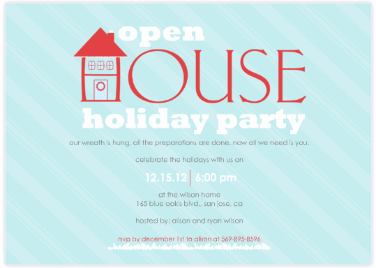 Open House Invites Wording Beautiful Open House Party Invitation Wording