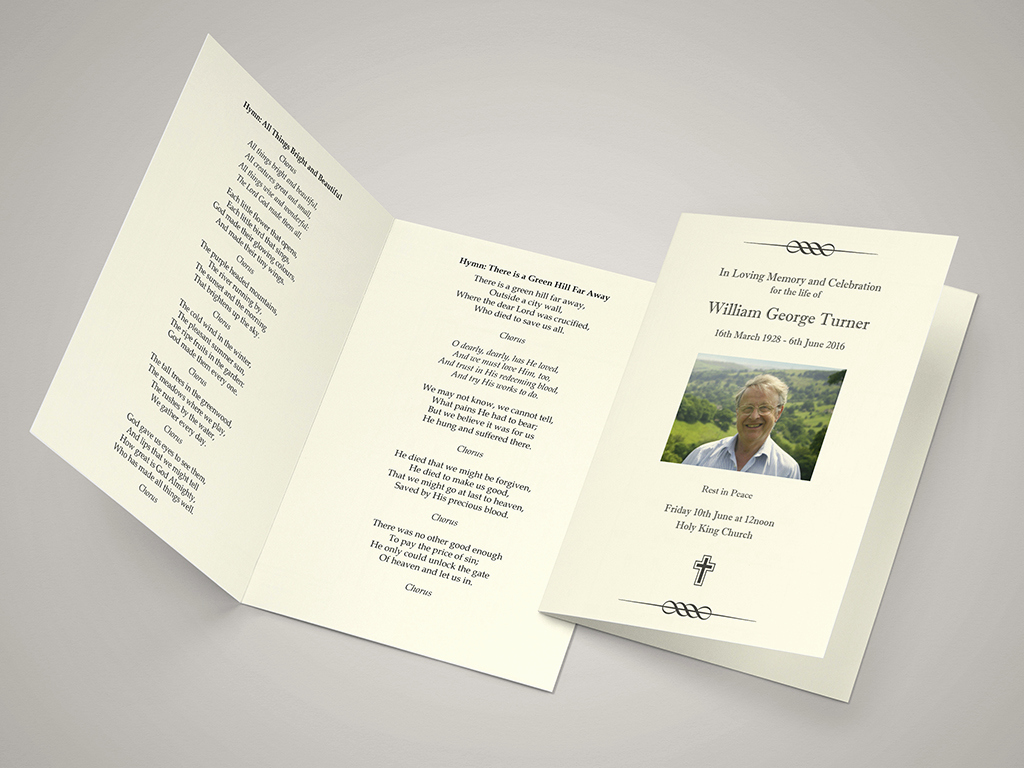 Order Of Service for Funeral Elegant Funeral order Of Service Templates