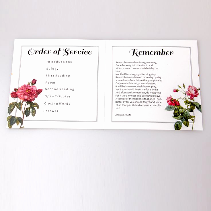Order Of Service for Funeral Lovely 1000 Ideas About Funeral order Service On Pinterest