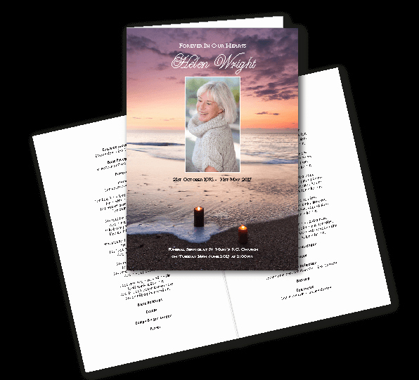 Order Of Service for Funeral Lovely Quality Funeral Printing Guaranteed Next Day Delivery