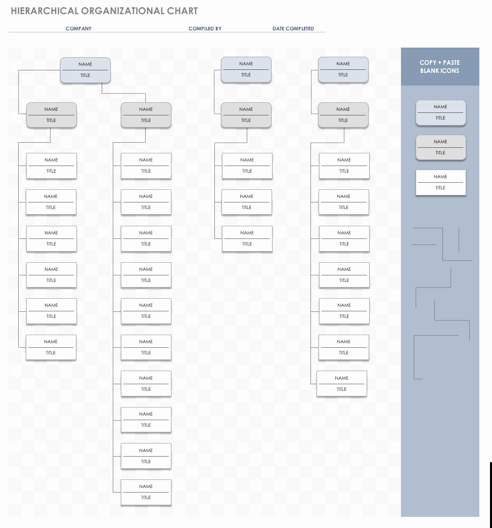 Organization Chart Template Excel Luxury Free org Chart Templates for Excel