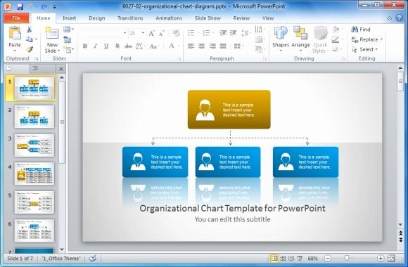 Organizational Chart Template Free Beautiful Best organizational Chart Templates for Powerpoint