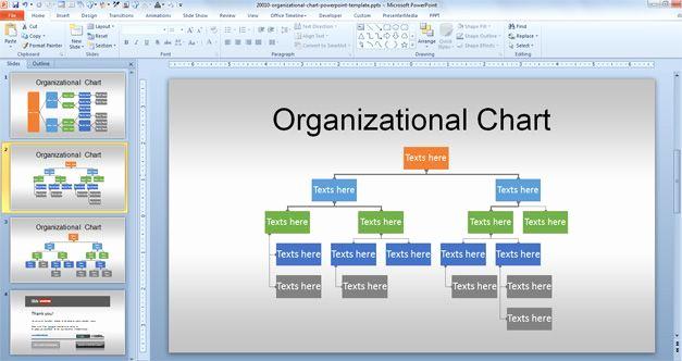 Organizational Chart Template Free Inspirational Free org Chart Powerpoint Template