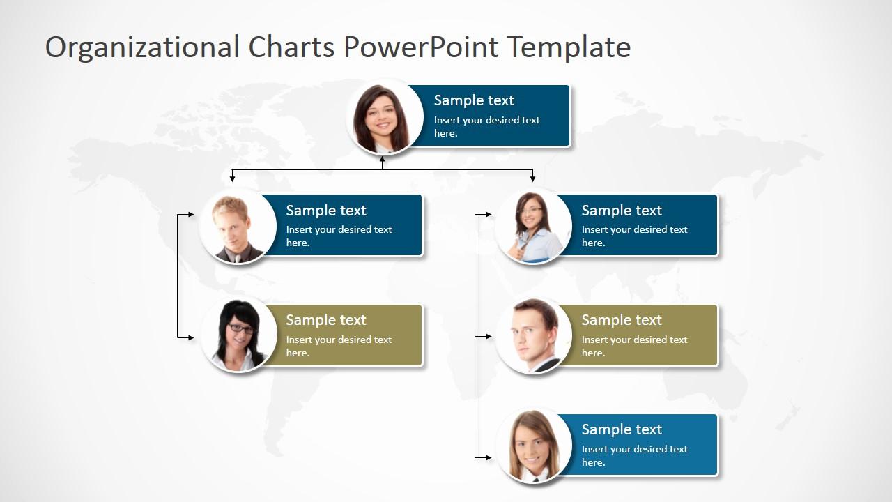 Organizational Chart Template Free Inspirational organizational Charts Powerpoint Template Slidemodel
