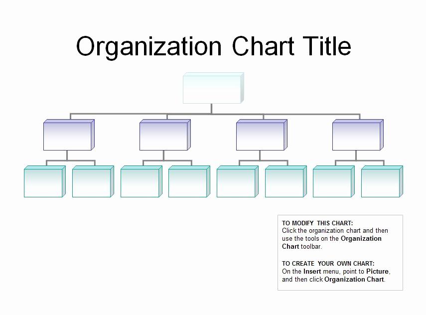 Organizational Chart Template Free Unique organizational Chart Template Excel