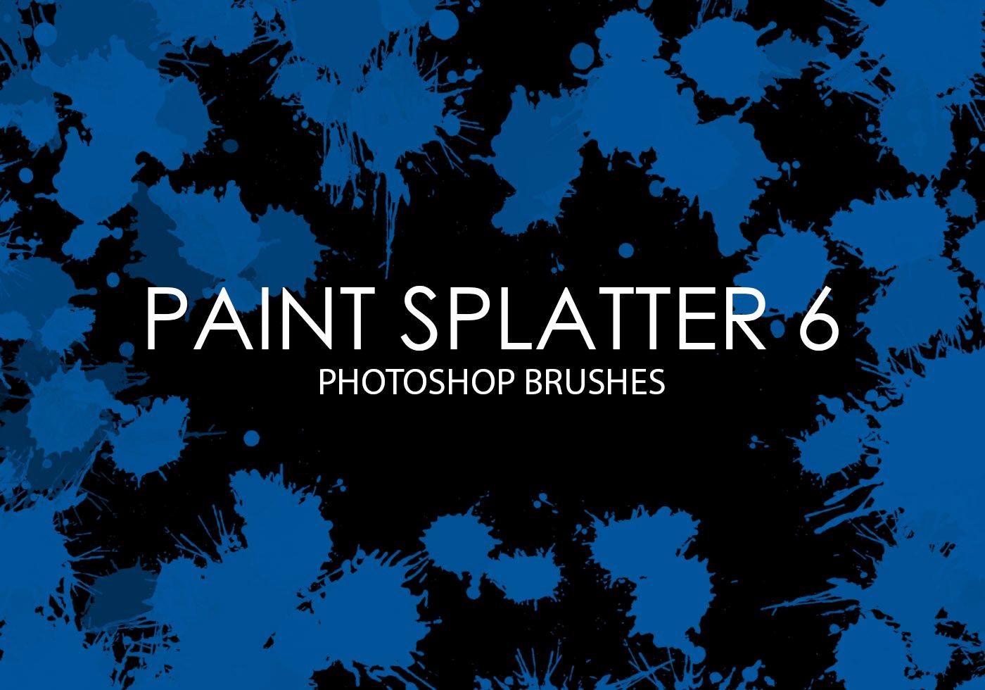 Paint Splatter Brush Photoshop Beautiful Free Paint Splatter Shop Brushes 6 Free Shop