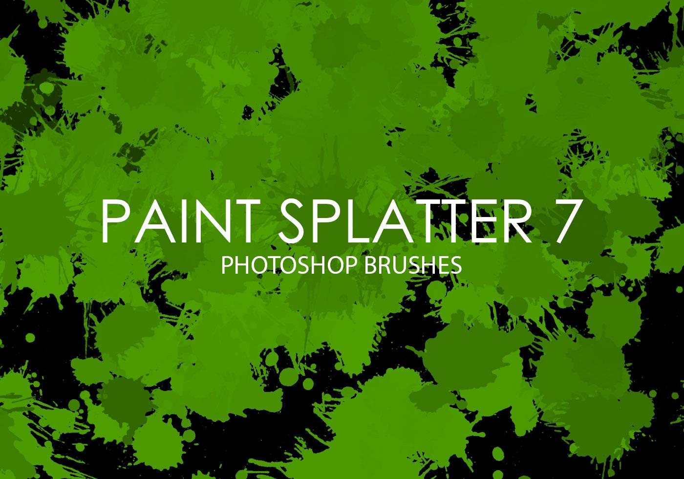 Paint Splatter Brush Photoshop Best Of Free Paint Splatter Shop Brushes 7 Free Shop