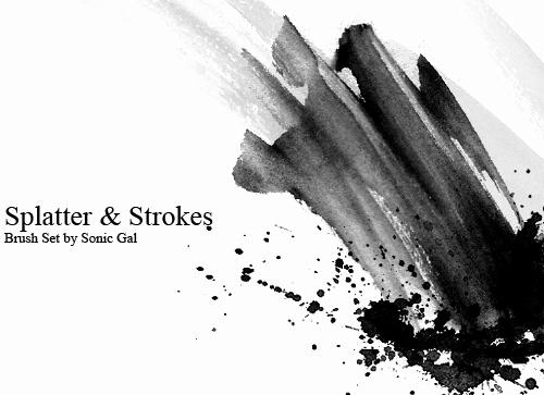 Paint Splatter Brush Photoshop Elegant 1000 Splatter Shop Brushes for Abstract Designs