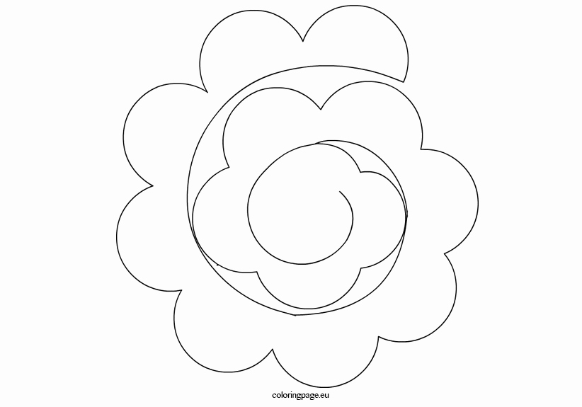 Paper Flower Template Printable Awesome Paper Flower Templates