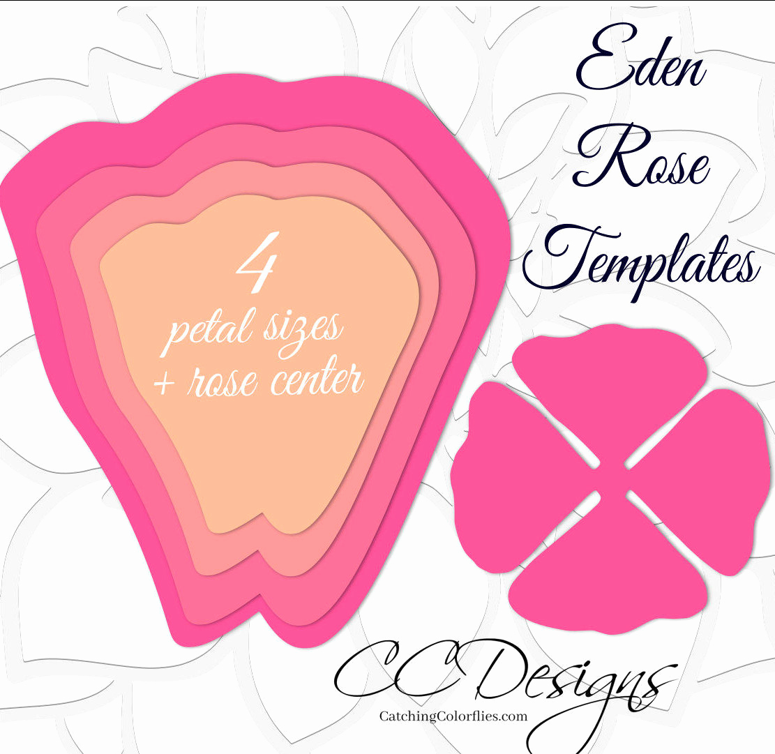 Paper Flower Template Printable Inspirational Paper Flower Rose Backdrop Diy Paper Flower Patterns and