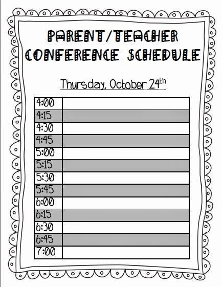 Parent Teacher Conference forms Luxury Teaching with Terhune Ready for Parent Teacher Conferences