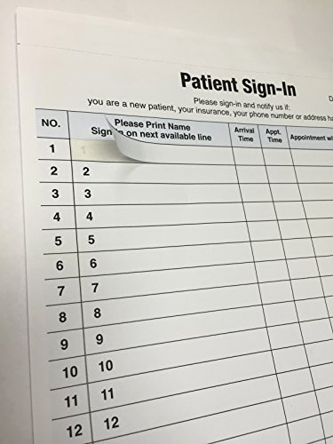 Patient Sign In Sheets Unique 1 Patient Sign In Label forms 125 Sheet S Hipaa