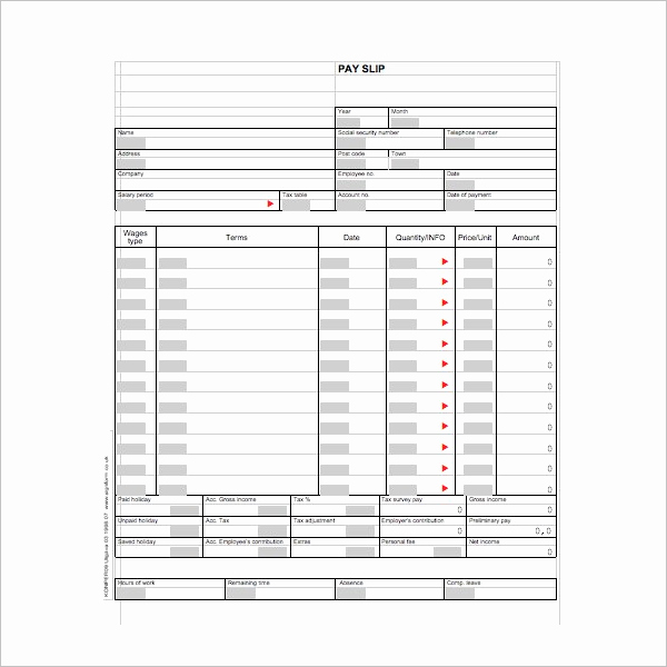 Pay Stub Template Word Elegant 62 Free Pay Stub Templates Downloads Word Excel Pdf Doc