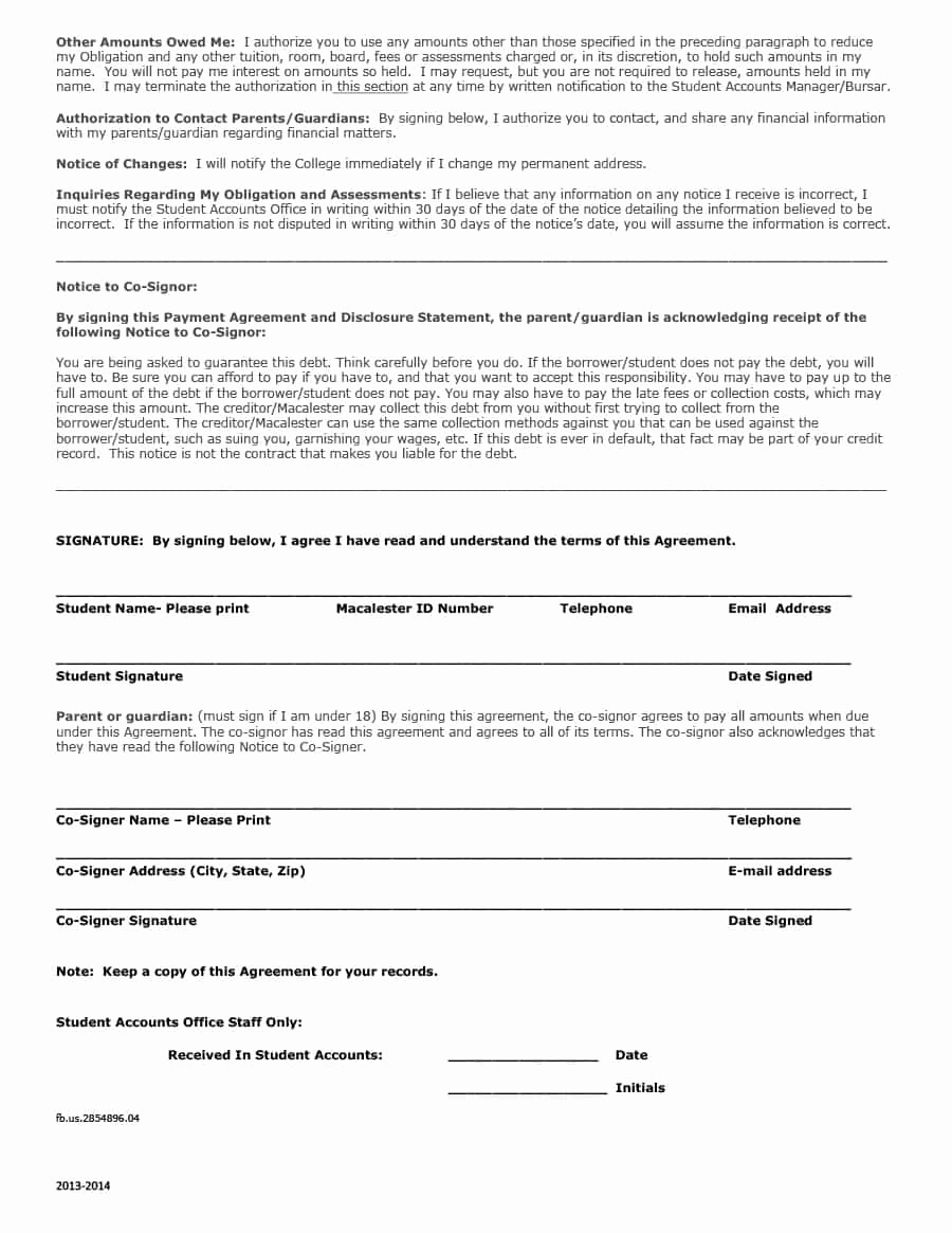 Payment Agreement Contract Pdf Unique Payment Agreement 40 Templates & Contracts Template Lab