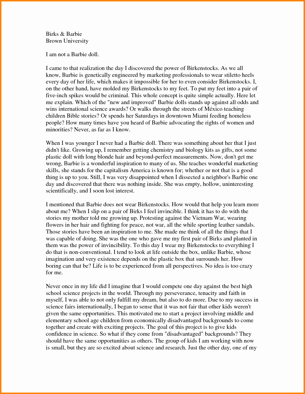 Personal Essay About Yourself Examples Fresh 48 Personal Essay Examples for College Personal Essay