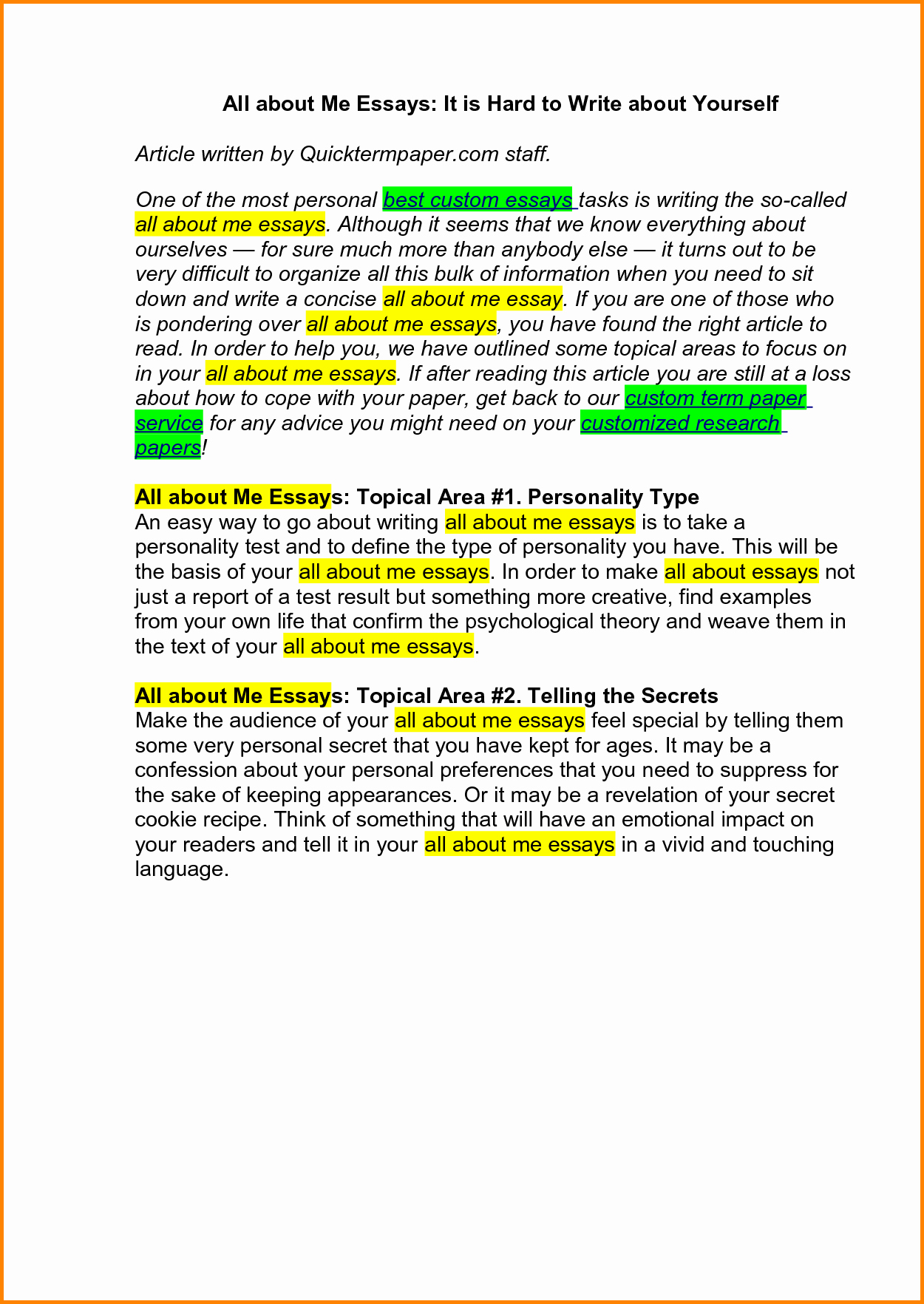 Personal Essay About Yourself Examples Luxury 54 Write An Essay How to Write An Essay Obfuscata