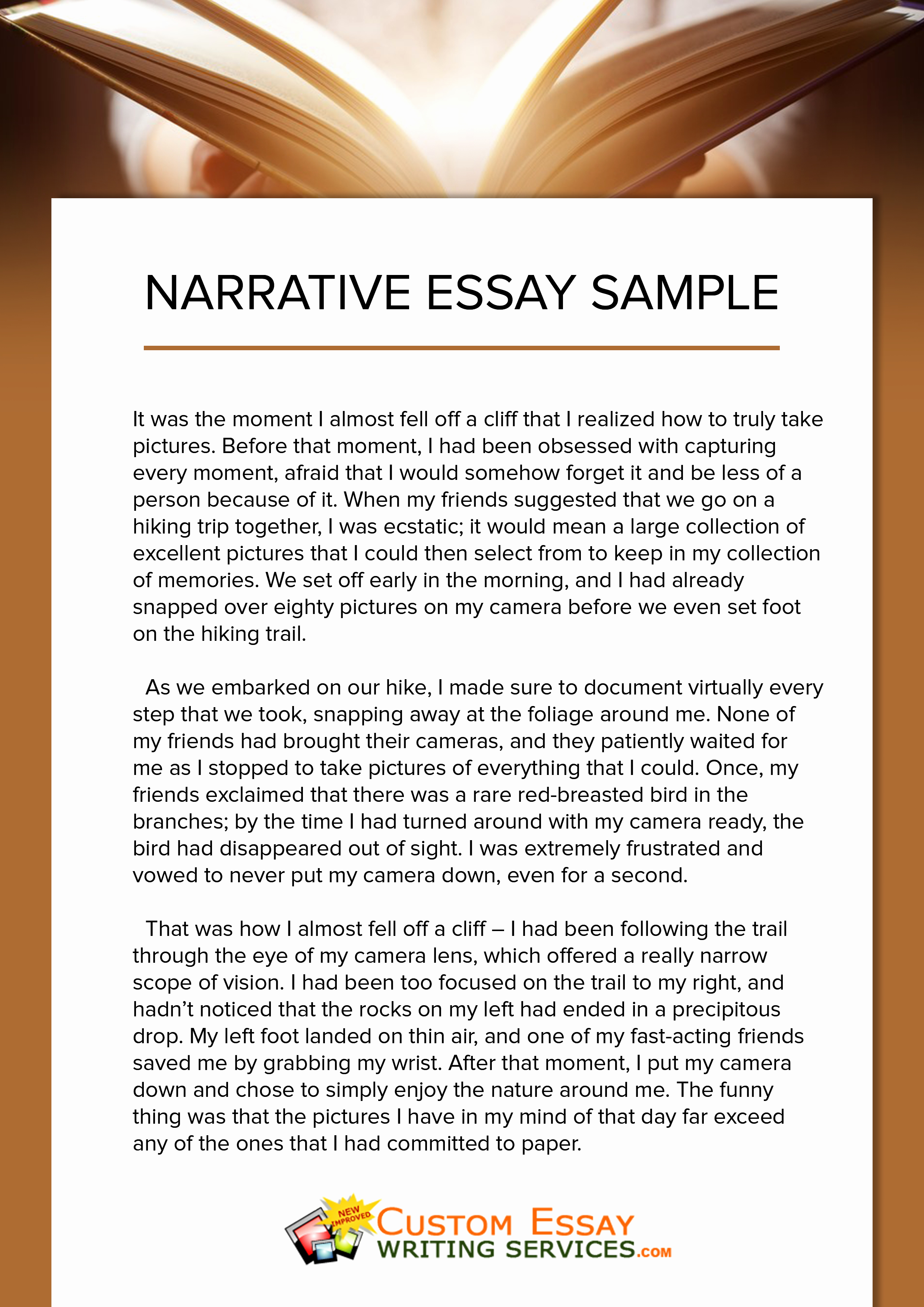 Personal Essay About Yourself Examples Luxury Narrative Essay Writing Ireland