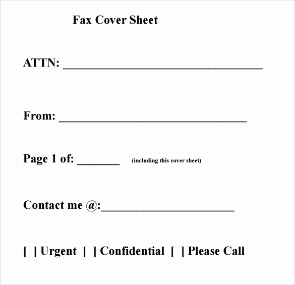 Personal Fax Cover Sheet Beautiful 28 Fax Cover Sheet Templates