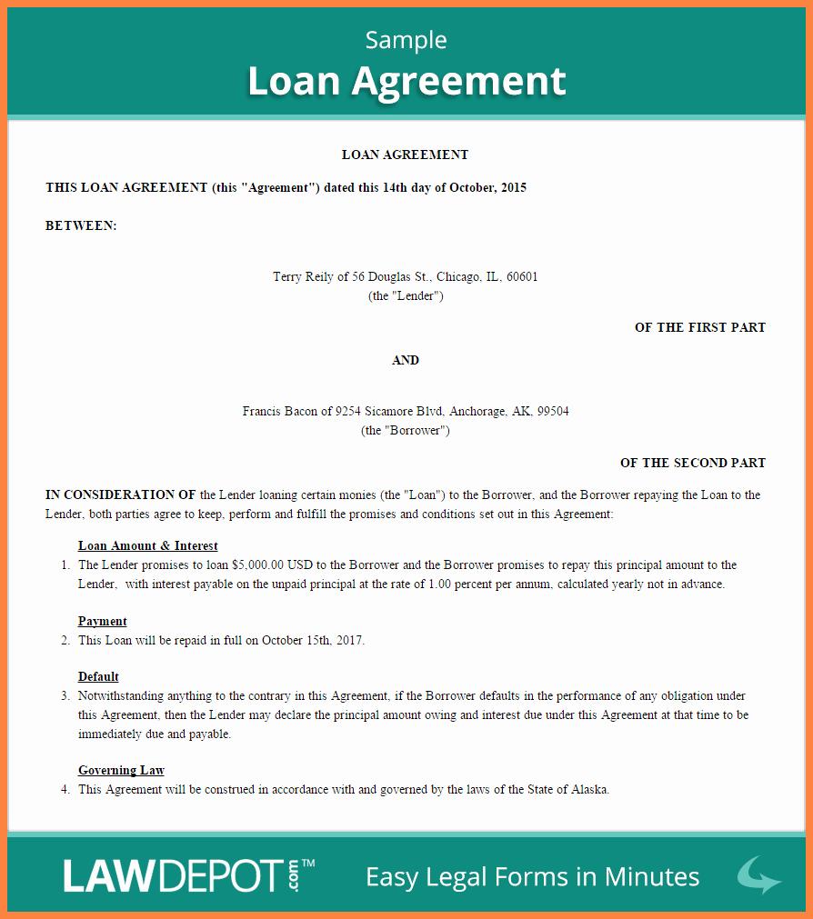 Personal Loan Agreement Between Friends Inspirational 8 Personal Loan Agreement Between Friends