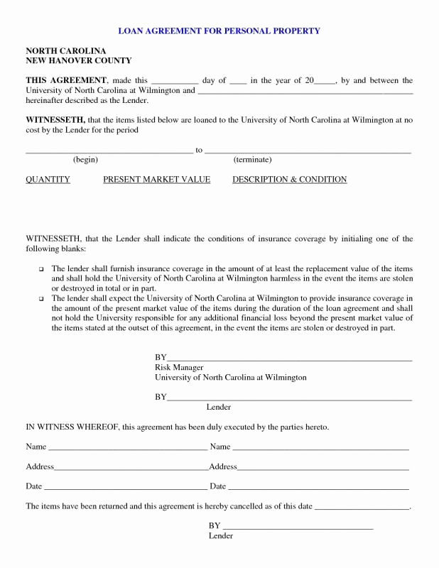 Personal Loan Agreement Pdf Inspirational Personal Loan Agreement Pdf