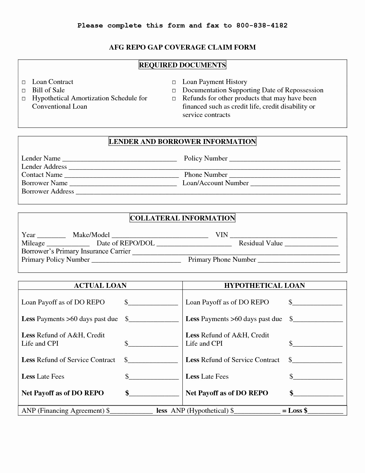 Personal Loan Agreement Templates Lovely Printable Sample Personal Loan Contract form
