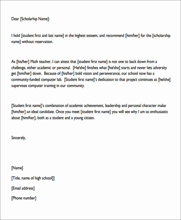 Personal Recommendation Letter Sample Inspirational 7 Sample Personal Re Mendation Letter Free Sample