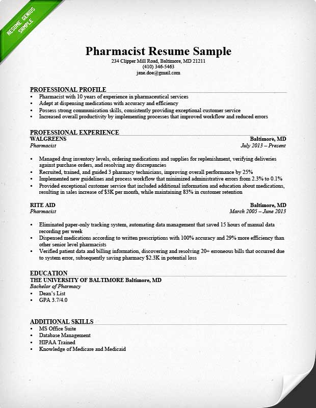 Pharmacy Tech Resume Samples Beautiful Sample Of Pharmacy Technician Resume