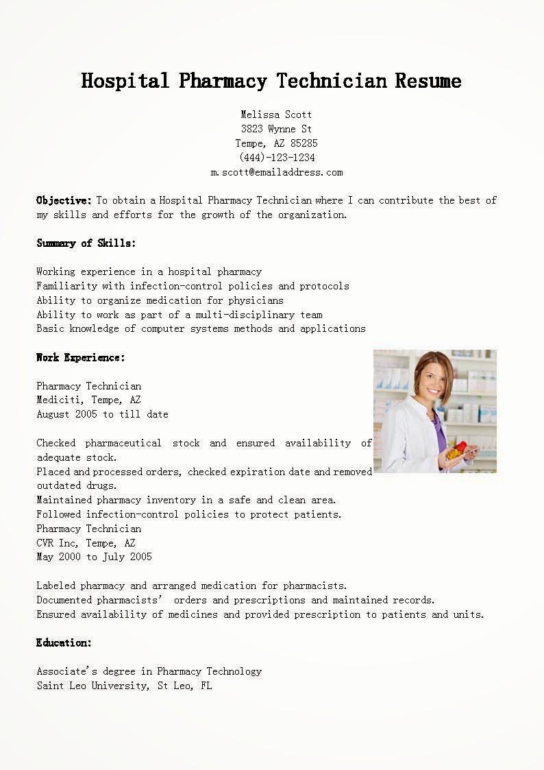 Pharmacy Tech Resume Samples Elegant Resume Samples Hospital Pharmacy Technician Resume Sample