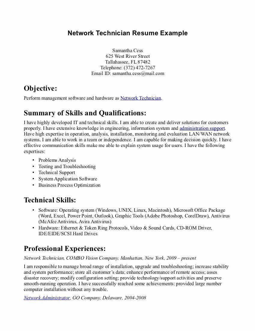 Pharmacy Tech Resume Samples Inspirational Pharmacy Tech Resume Samples
