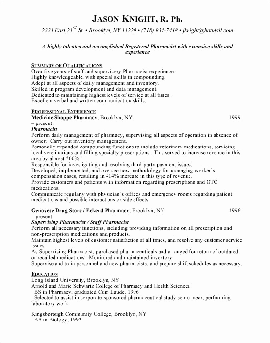 Pharmacy Tech Resume Samples Luxury Pin by topresumes On Latest Resume